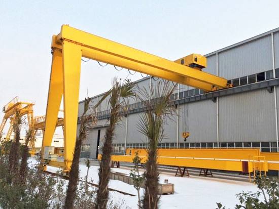 BMG Semi-gantry Crane Sale