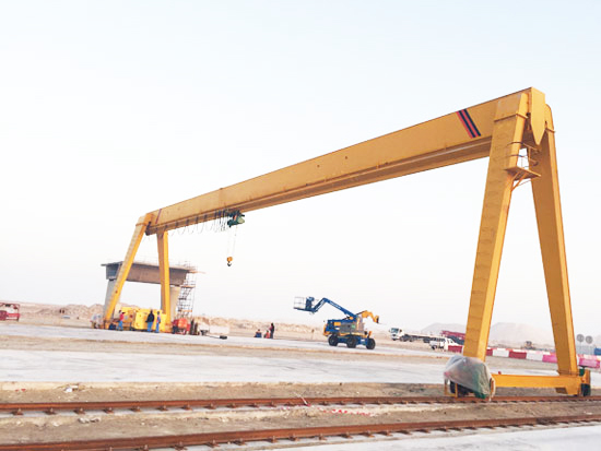 MH Single Girder Gantry Crane for Sale