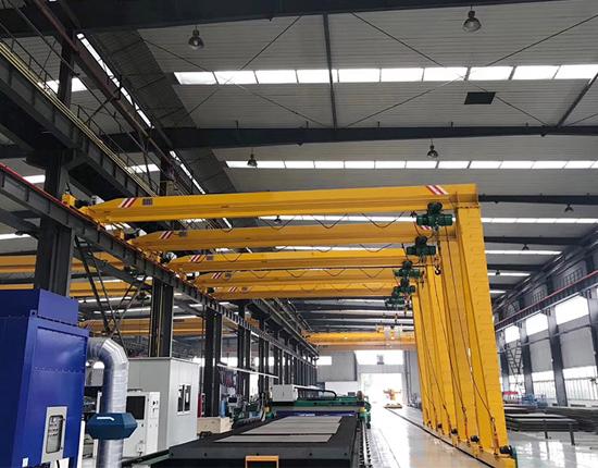 3 Ton Semi Gantry Crane for Sale