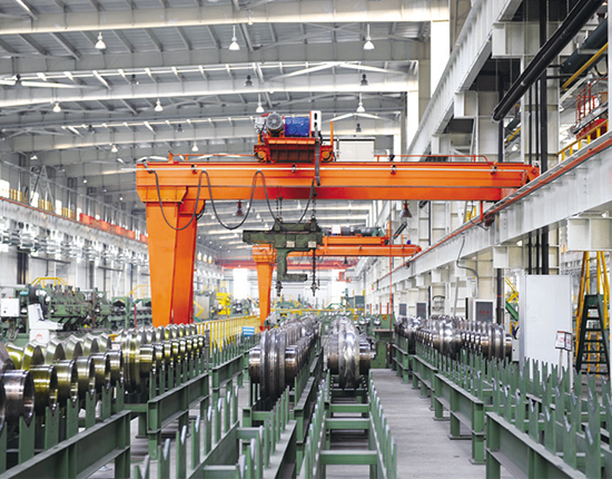 Semi Gantry Crane 20 Ton for Sale