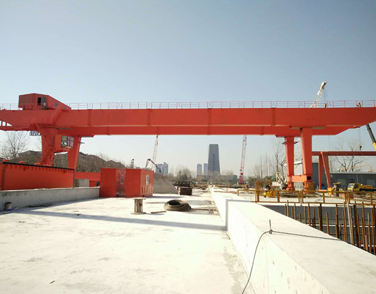 U Frame Gantry Crane Manufacturer