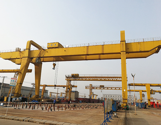 Double Girder Gantry Crane 30 Ton