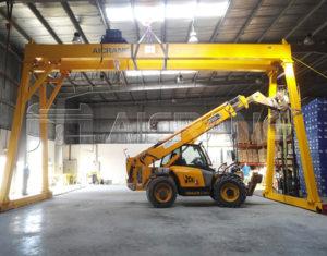 Double Girder Warehouse Crane Sale