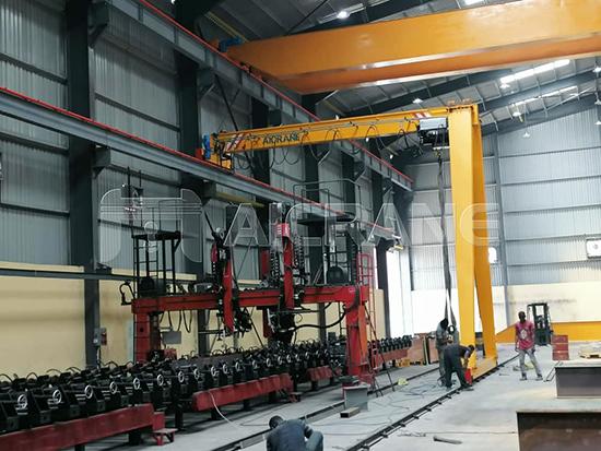 Semi Gantry Crane Price