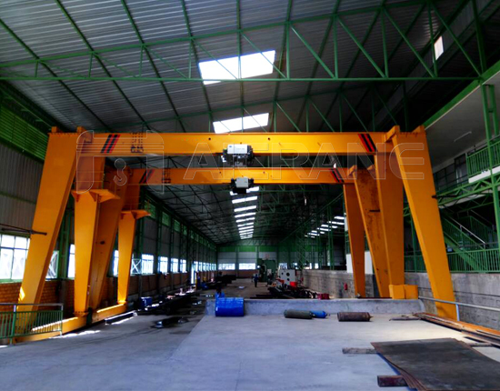 European Style Single Girder Crane for Sale