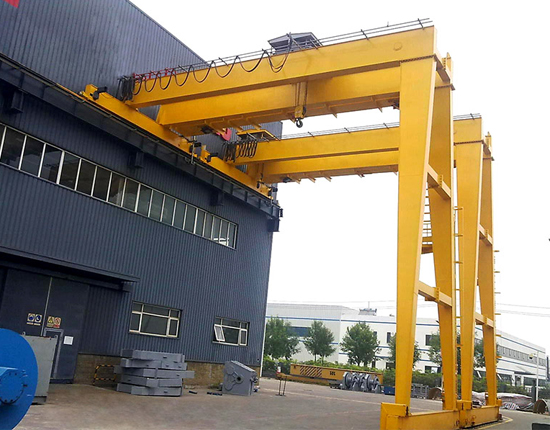 AQ-BMG 15 Ton Semi Gantry Crane for Sale