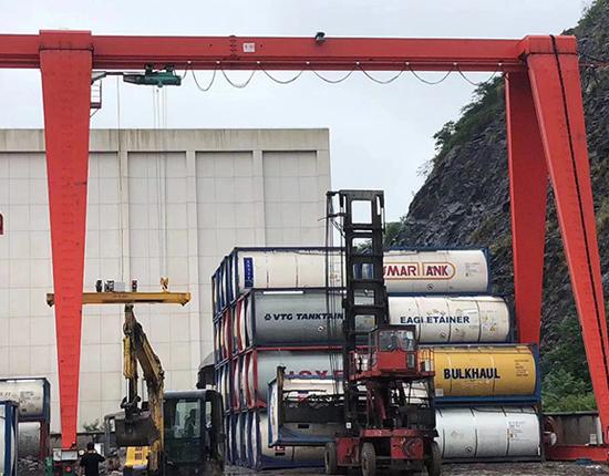 Single Girder Electric Gantry Crane Manufacturer