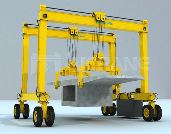 Rubber Tyred Gantry Crane Design