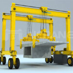 Gantry Crane for Bridge Construction