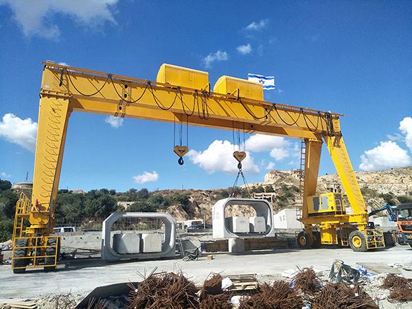 Rubber Tired Gantry Crane Manufacturer
