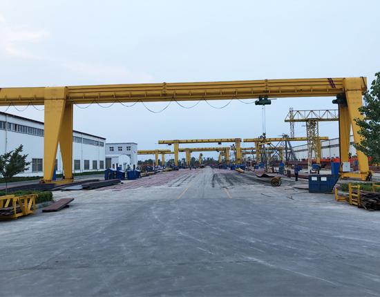 Industrial Single Girder Gantry Crane Manufacturer