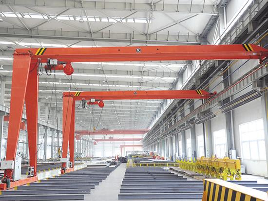 Single Girder Semi Gantry Crane Price