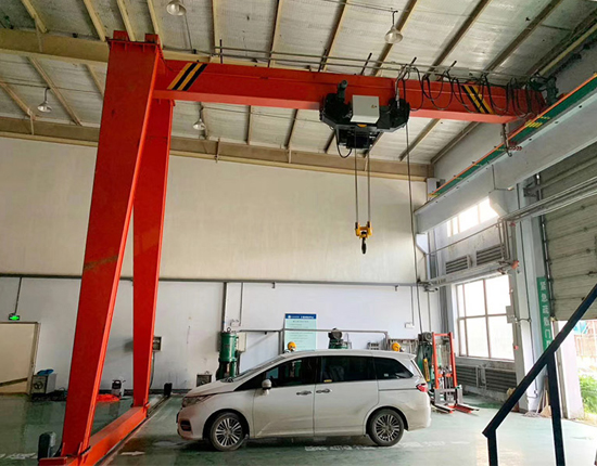 AQ-BMH Semi Gantry Crane for Sale