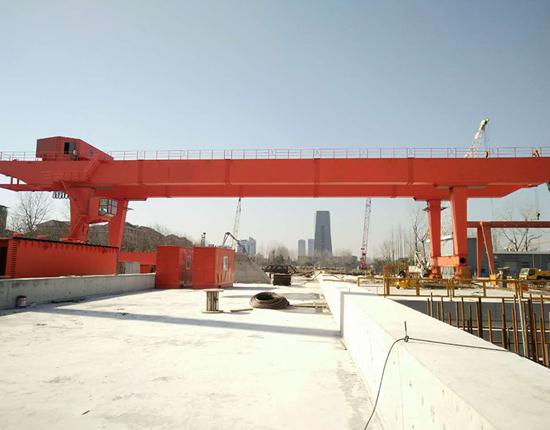 U Type Gantry Crane 80 Ton Manufacturer