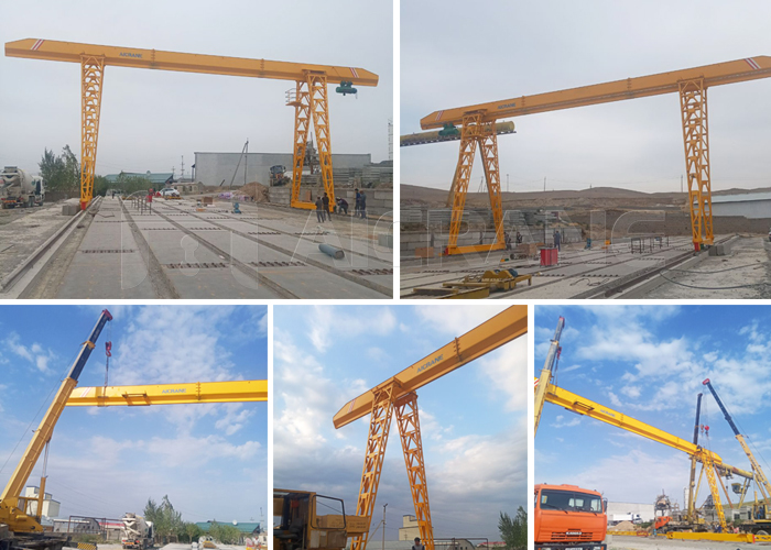 10 Ton Single Girder Gantry Crane for Sale