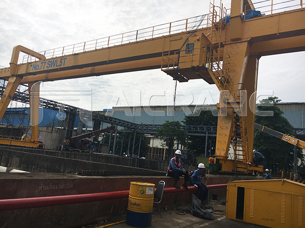 5 Ton Grab Gantry Crane for Sale