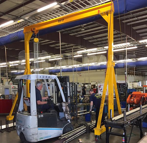 Portable Gantry Crane 5 Ton