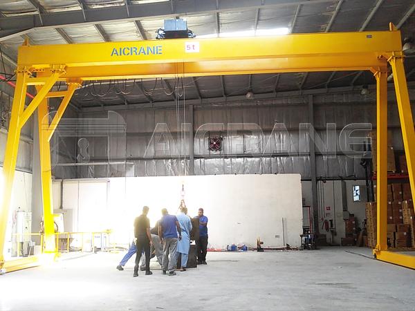 5 Tonne Gantry Crane for Sale