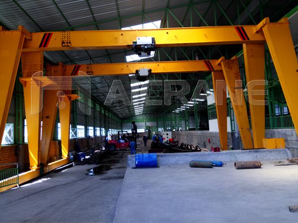 European 10 Ton Gantry Crane for Sale