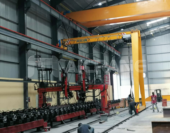 European Standard Semi Gantry Crane Price