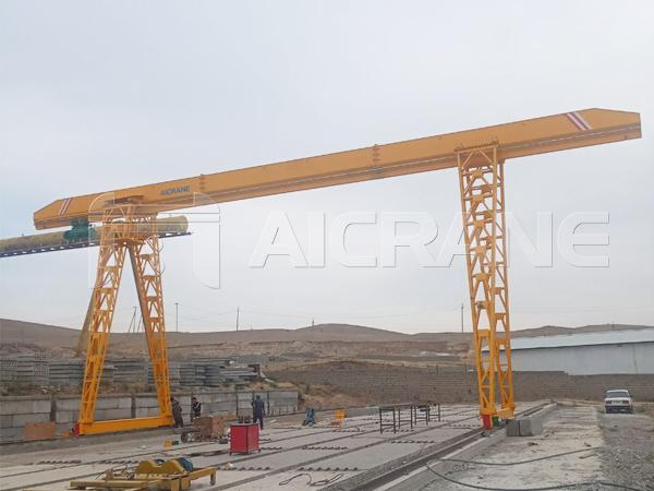 AQ-MH Single Girder Gantry Crane For Sale