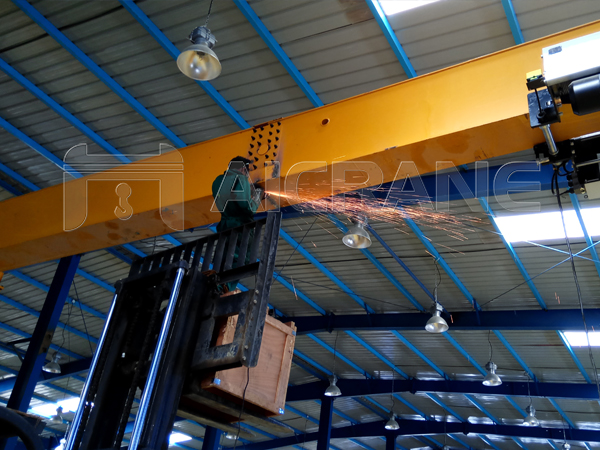 Main Beam Joint Welding And Polishing