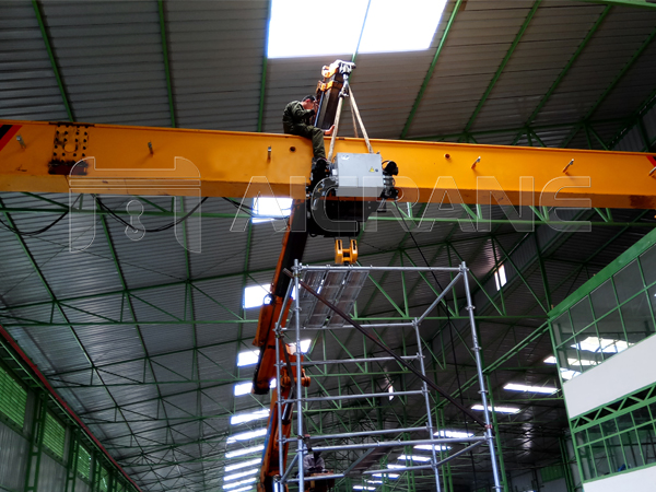 Electric Hoist Adjustment