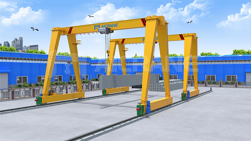 Single Girder Gantry Crane Design