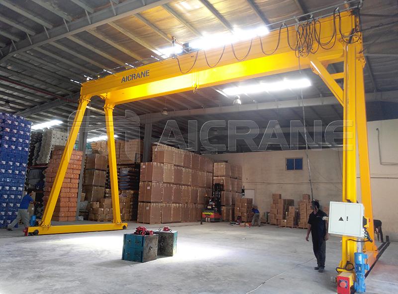 Warehouse Gantry Crane Manufacturer
