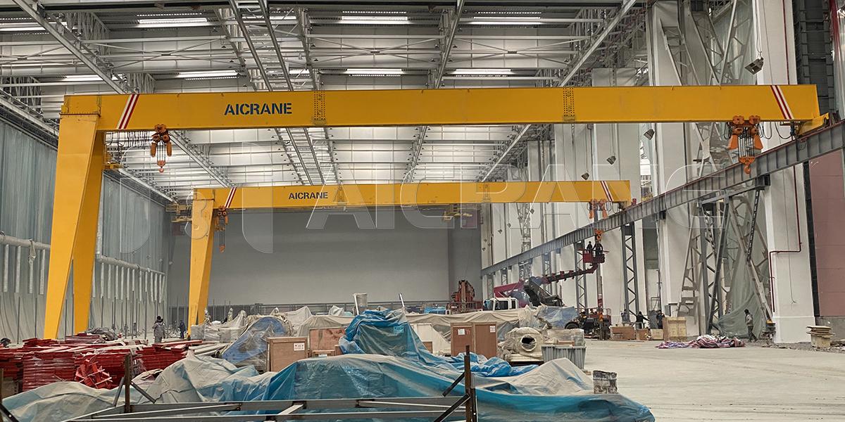 10T+20T Semi Gantry Cranes