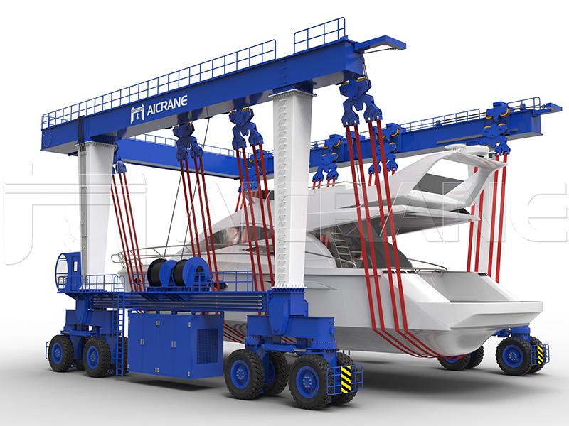 Boat Lift Crane 16-Wheel Price