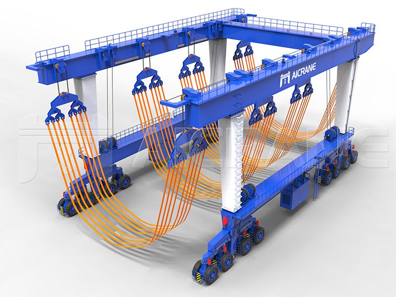 Hydraulic Boat Lift 32-Wheel Supplier