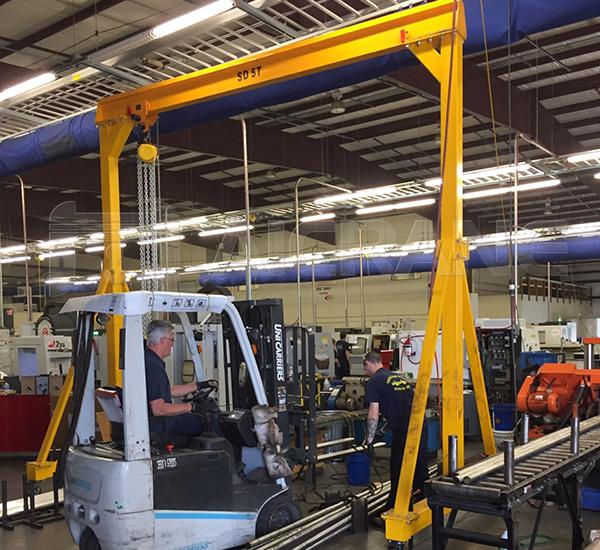 Small Portable Workshop Gantry Crane