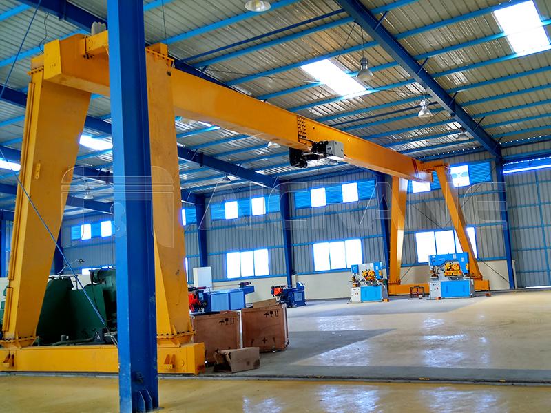 Workshop Gantry Crane Manufacturer