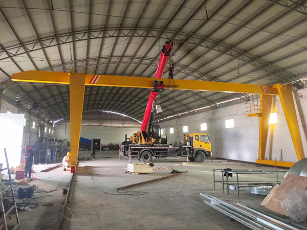 European Single Girder Gantry Crane For Sale