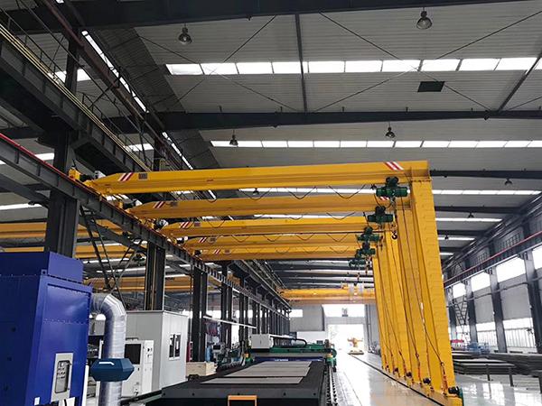 Single Girder Semi Gantry Crane Manufacturer
