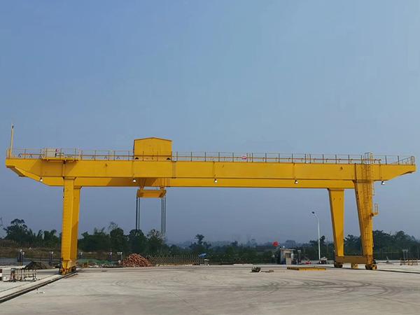 AQ-MDU Double Girder Gantry Crane Manufacturer