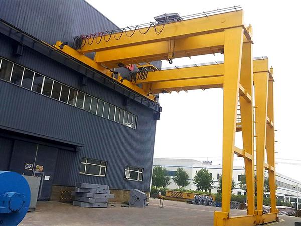 AQ-BMG Double Girder Semi Gantry Crane Price