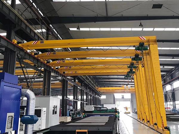 AQ-BMH Semi Gantry Crane Manufacturer